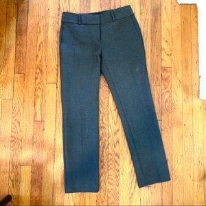 Ann Taylor Devin Fit Slim Cropped Pants 00p